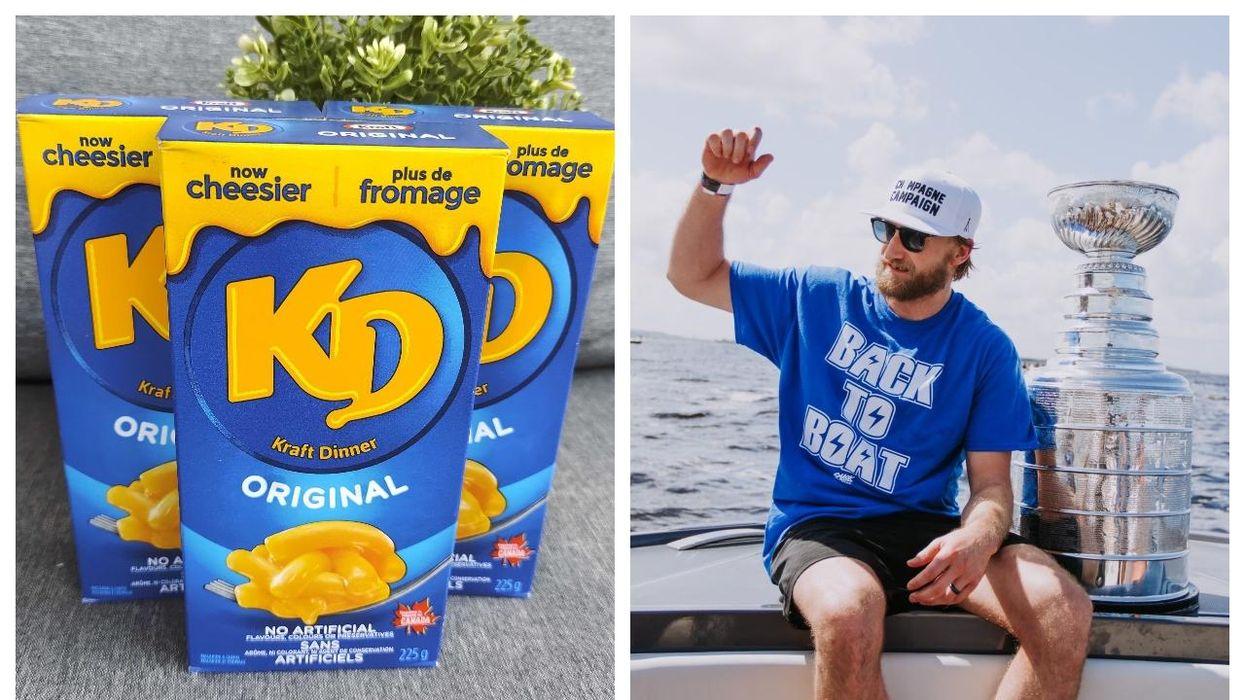 Kraft Dinner Canada se moque du Lightning de Tampa Bay