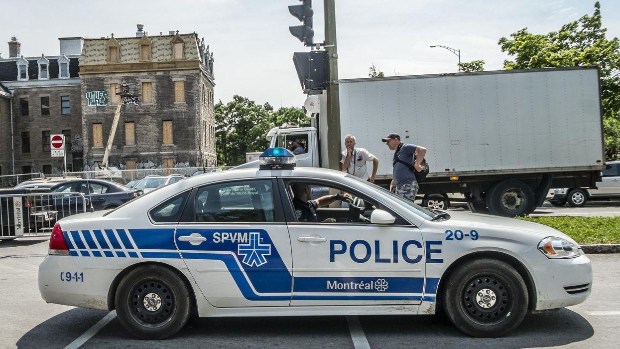 Cette carte de Montréal rapporte les interpellations policières