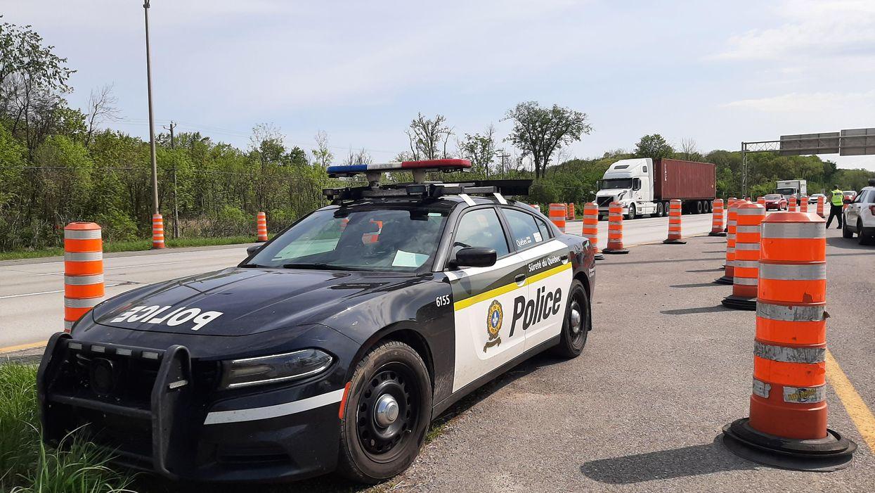 Vacances de la construction: plus de policiers au Québec