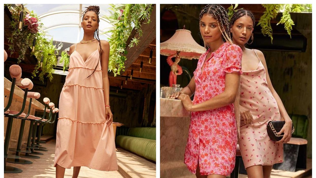 Simons Canada Is Having A 50% Off Sale RN & Here Are 6 Summer Dresses You Can Add To Your Closet