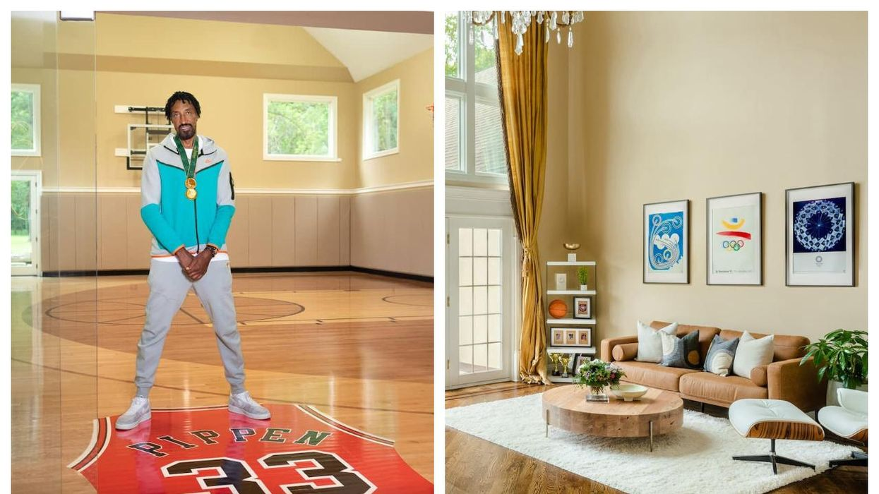Scottie Pippen's House Is Up For Grabs On Airbnb For The Olympics