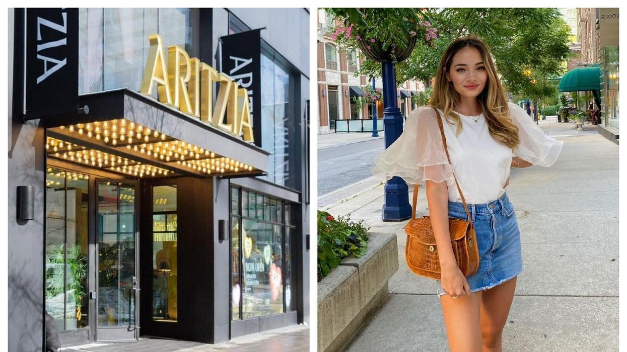 Aritzia's Summer Sale Is Heating Up With Everything Up To 50% Off Right Now