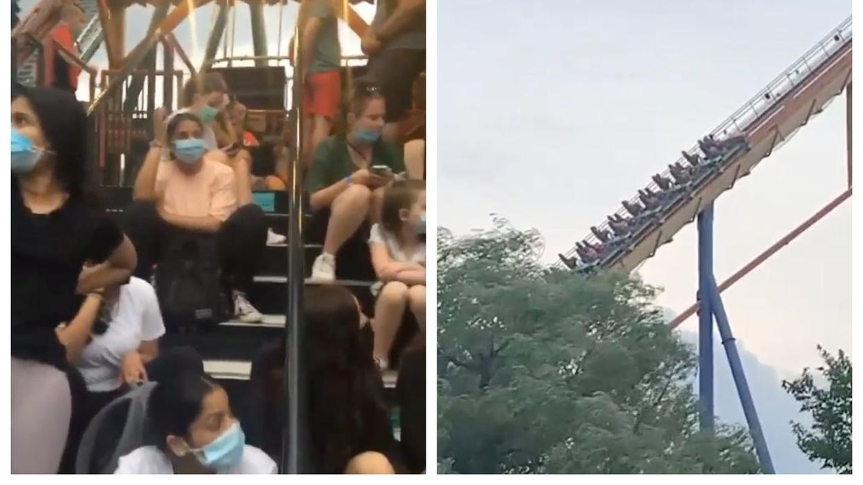 Canada's Wonderland Just Reopened & There Were Already Delays & Long Lines