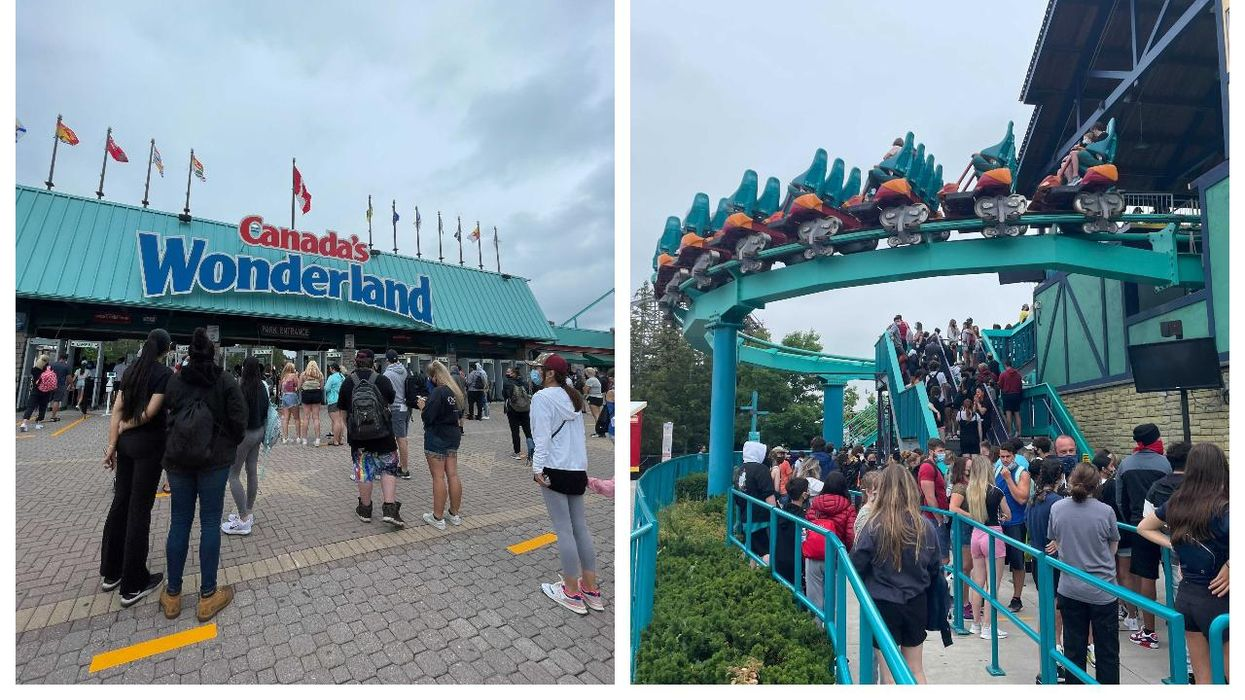 Canada's Wonderland Is Open To The Public & Here's What It Looks Like