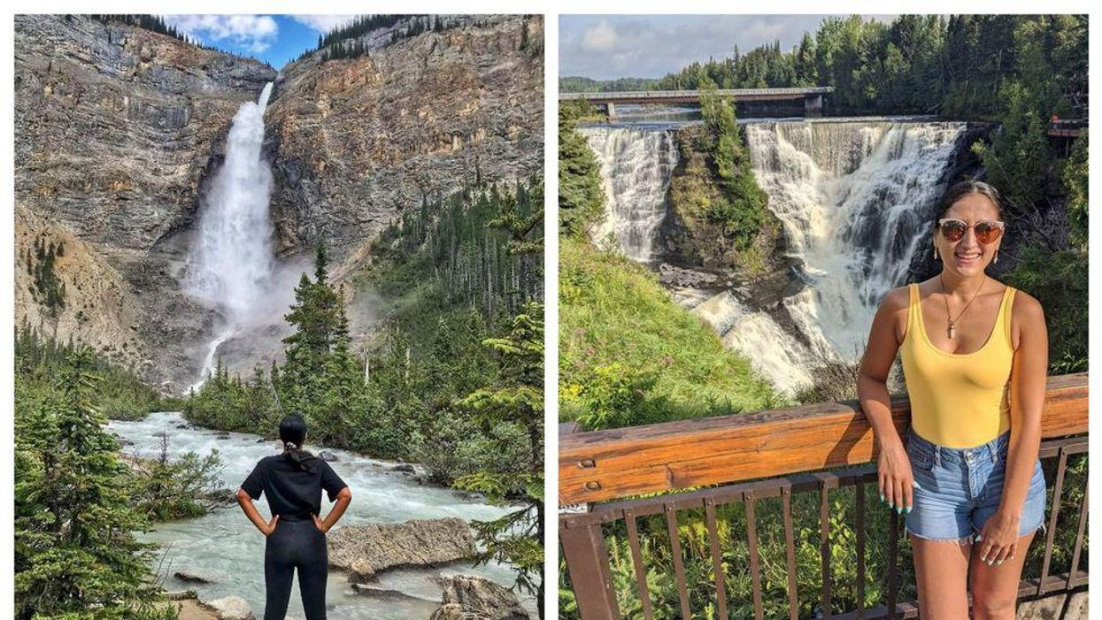 These 7 Scenic Waterfalls In Canada Should Definitely Be On Your Staycation Bucket List