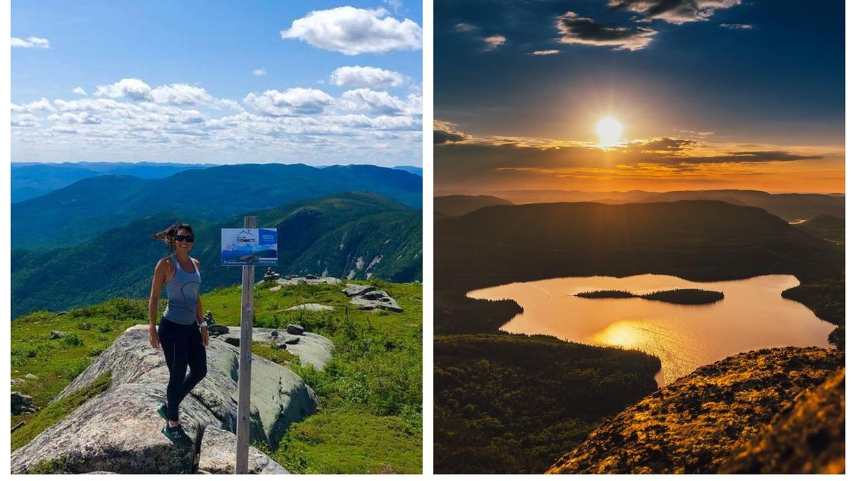 Randonnées près de Québec : le Mont Élie à Charlevoix offre une vue de rêve