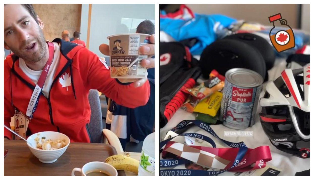 Jeux olympiques de Tokyo : Du sirop d'érable dans la valise d'Hugo Houle