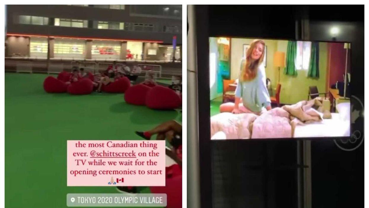 Tokyo Olympics Have Canadian Athletes Watching 'Schitt's Creek'