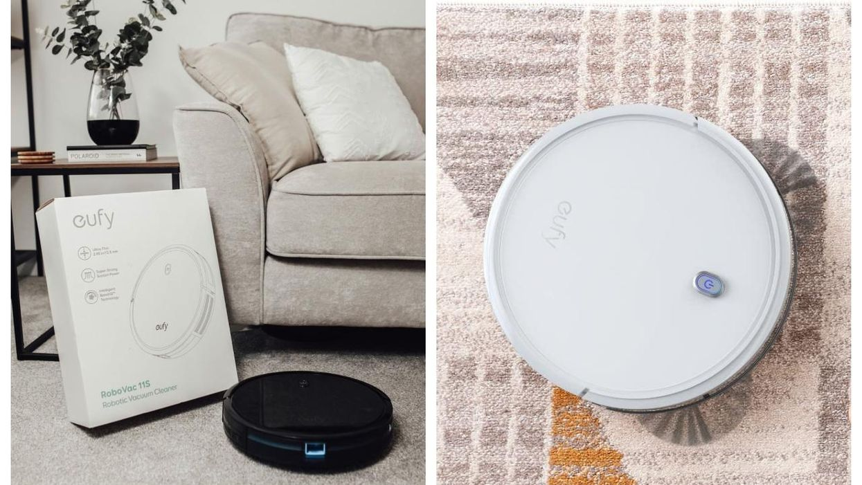 This Robot Vacuum Is A Cheaper Alternative To The Roomba & You Can Get $100 Off Right Now