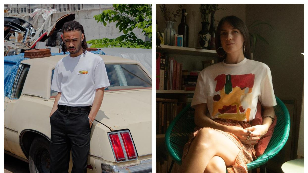 Frank And Oak Just Launched Their 'Make It Local' Collection With Designs From 3 Canadian Artists