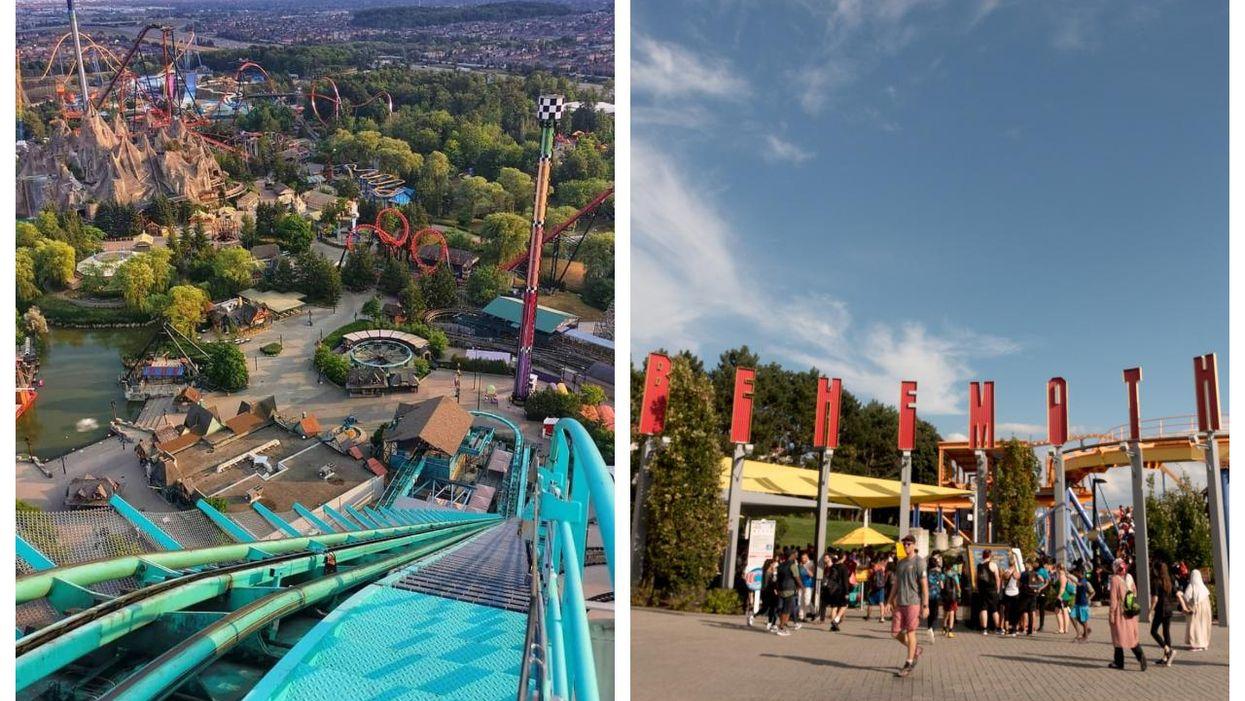 Canada's Wonderland Has Had Plenty Of Ups & Downs This Year (VIDEOS)