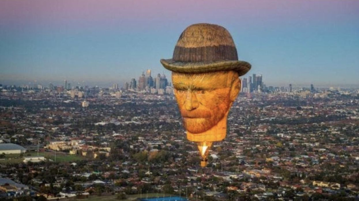 A Giant Van Gogh Balloon Is Invading The Toronto Sky This Week