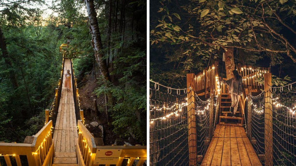 You Can Explore A Magical 'Bridge Of Dreams' At Mont-Tremblant