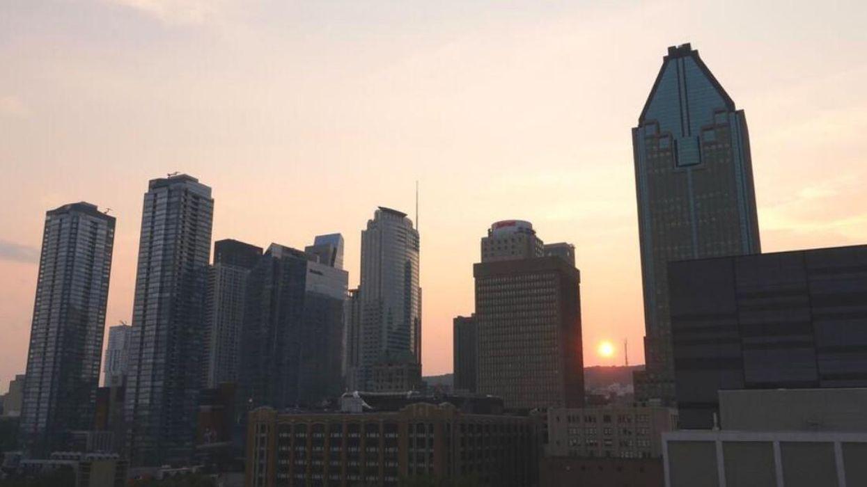 Thomas Pesquet partage des photos de Montréal vue de l'espace