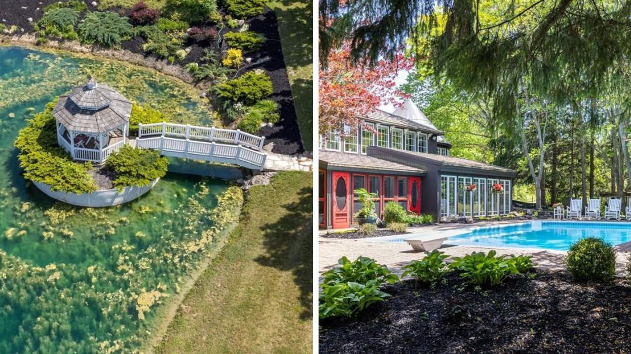Niagara Home For Sale Has A Gazebo That's Worthy Of Monet