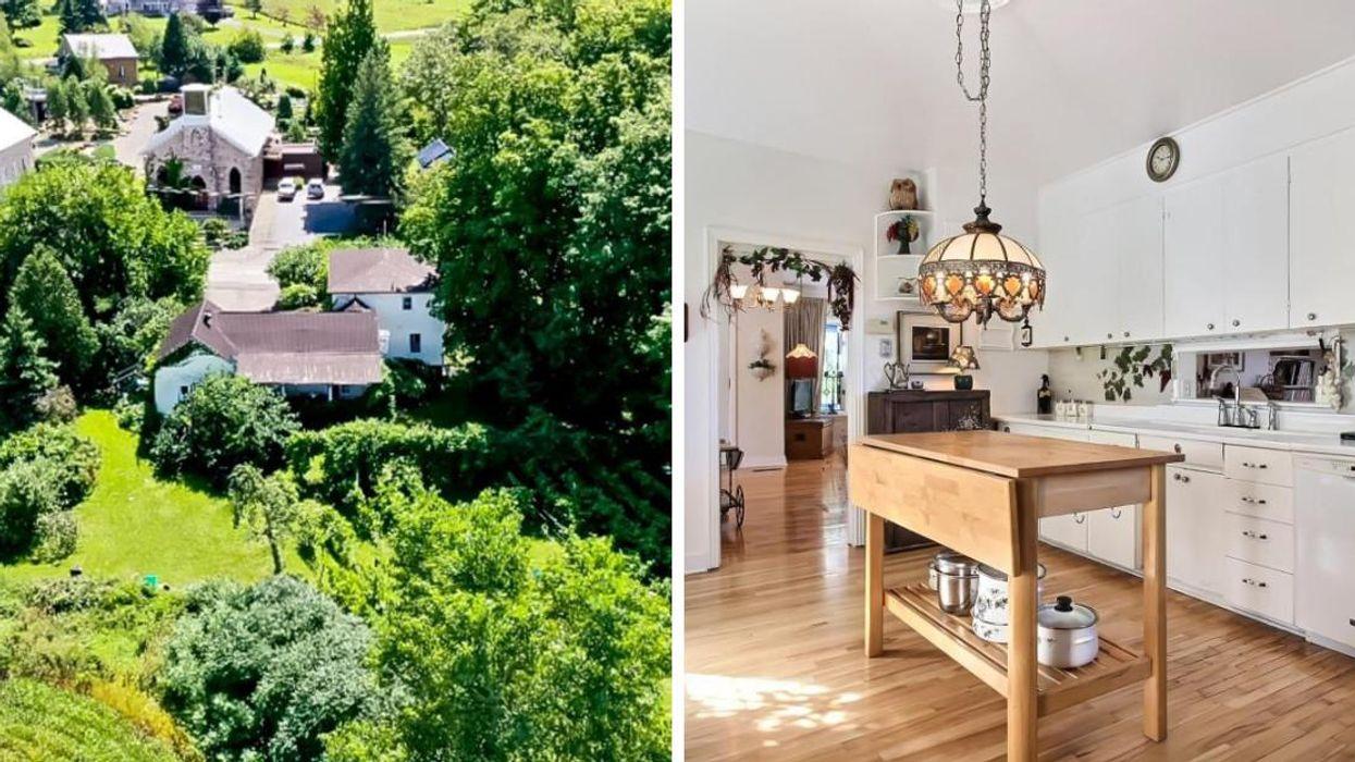 Une maison avec vignoble à vendre pour 280 000 $ près de Montréal