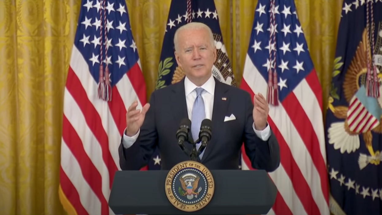 Biden Tells US States To Offer $100 Vaccine Incentive To Unvaxxed Americans