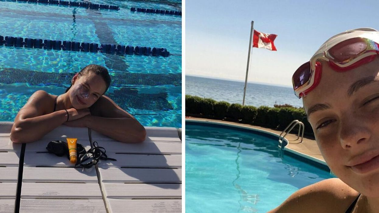 Penny Oleksiak's Response To Missing The Podium In Tokyo Is Iconic