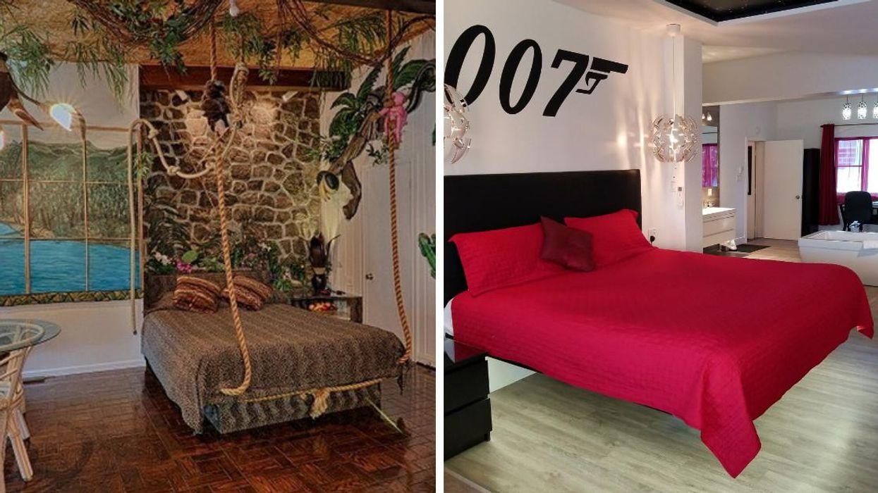 L'Auberge aux Nuits de Rêve dans les Laurentides a des chambres thématiques