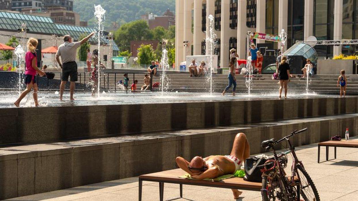 Une vague de chaleur prévue cette semaine à Montréal