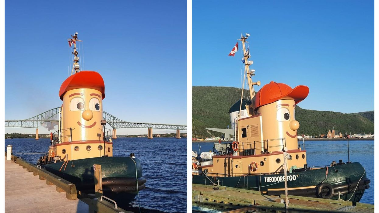 Theodore Tugboat Has Moved To Ontario & This Is Where To Find It