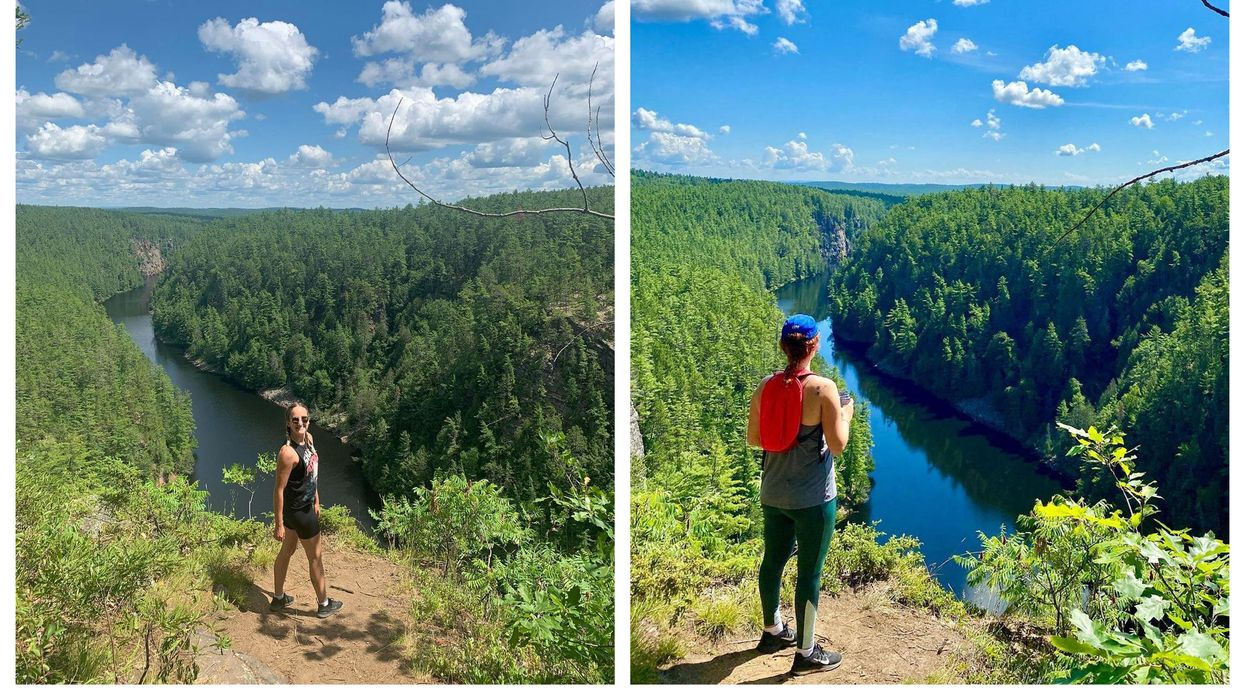This Trail In Algonquin Provincial Park Leads You A Giant Canyon
