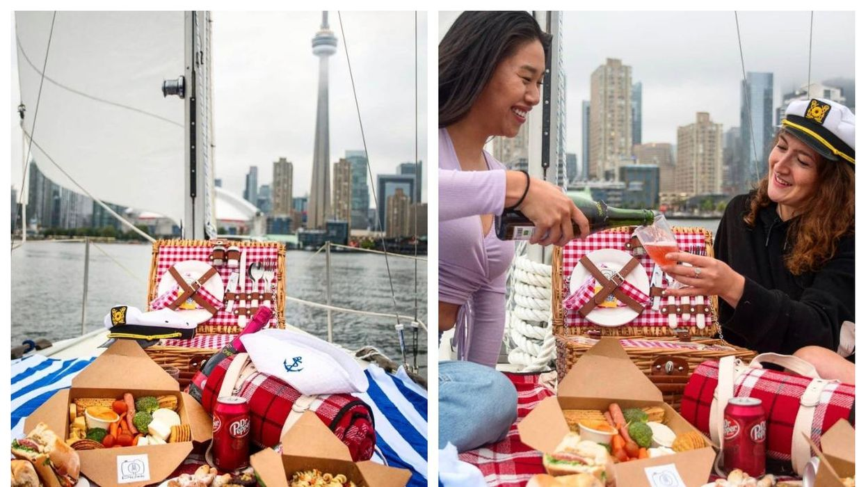 This Sailboat Picnic In Toronto Is The Perfect Summer Date Night