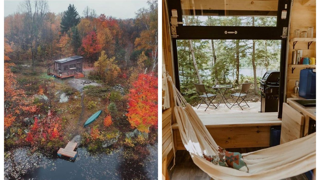Cabinscape Is Opening 2 Tiny Cabins In Muskoka & You Can Rent Them Now
