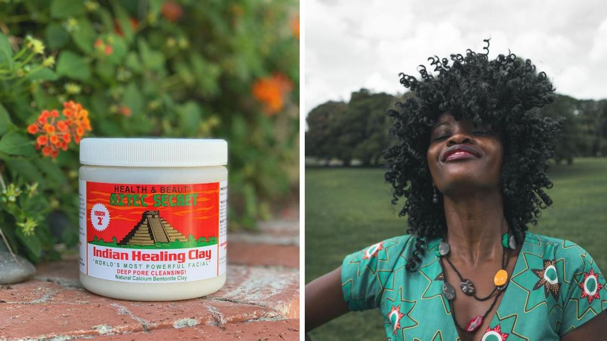 This Clay Hair Mask Went Viral On TikTok & People Say It Can Bring Curls Back To Life