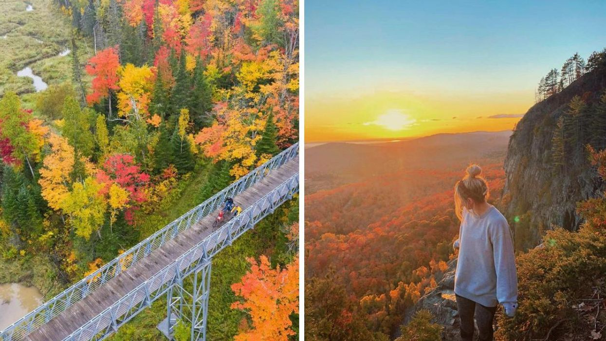 7 Ways To Experience Fall Colours In Sault Ste. Marie