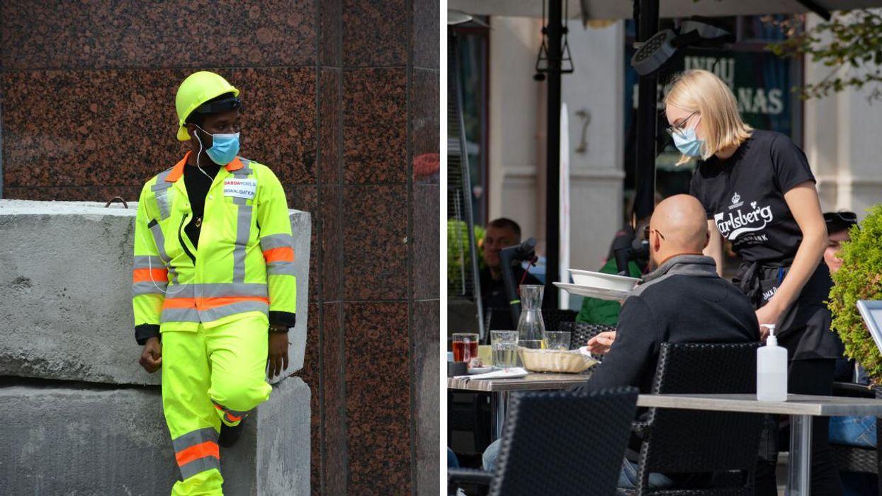 Chaleur au Québec : Fin du masque pour les travailleurs dehors