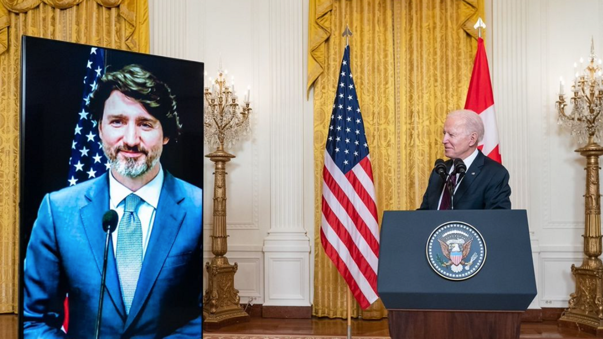 Trudeau & Biden Just Talked About Everything From Borders To Olympics
