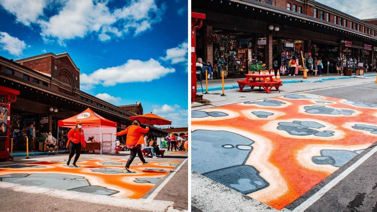 The ByWard Market Has A New Attraction Where You Can Jump Over 'Lava'