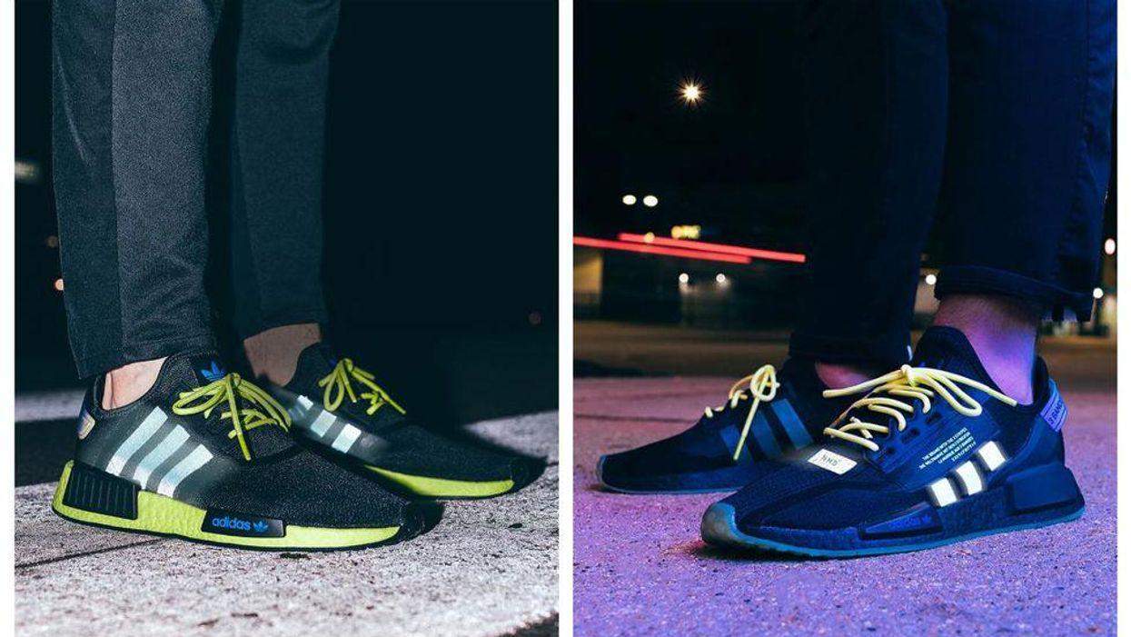Shop Foot Locker Canada's New Adidas Glow In The Dark Sneakers