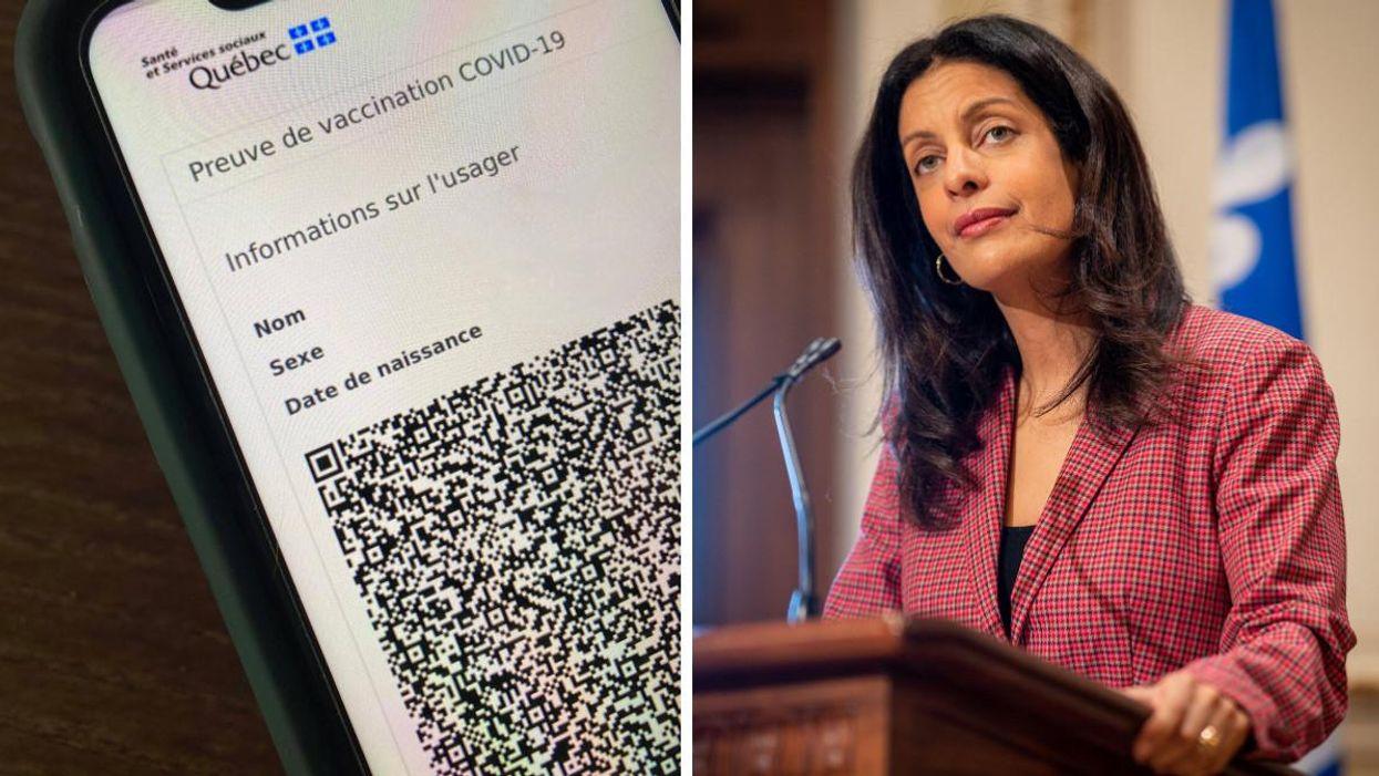 Le passeport vaccinal obligatoire au Québec? Anglade le veut maintenant