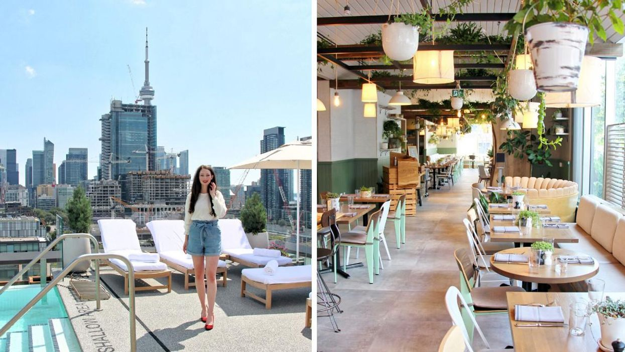1 Hotel Toronto Has A Fancy Rooftop Patio & These First Look Photos Will Make You Want A Vacation