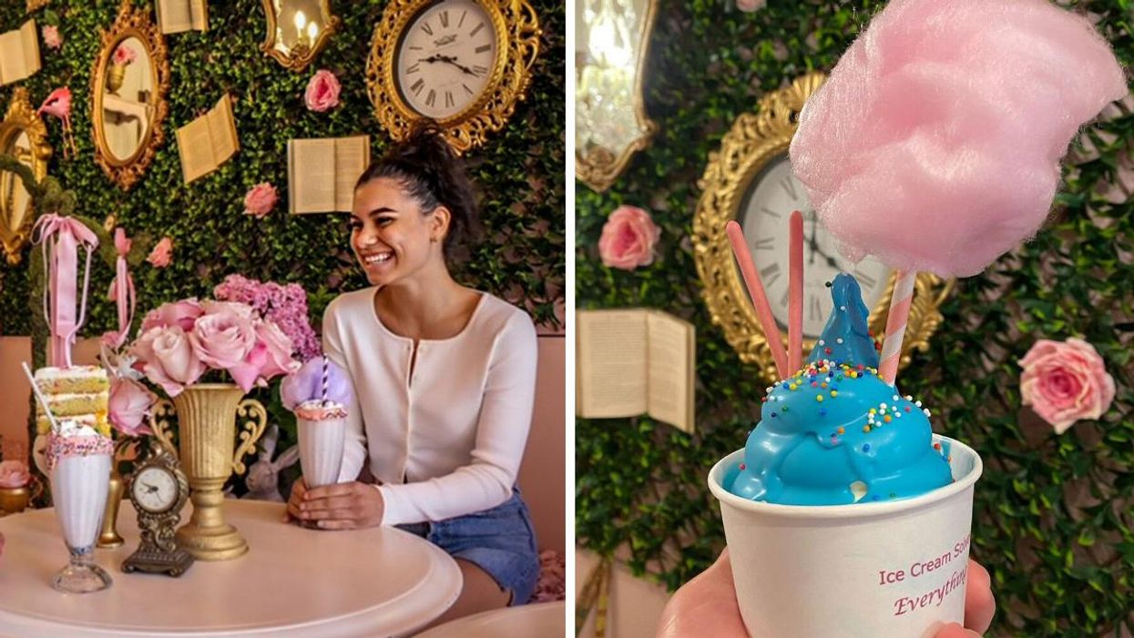 Ontario's 'Alice In Wonderland' Cafe Is Like A Trip Down The Rabbit Hole
