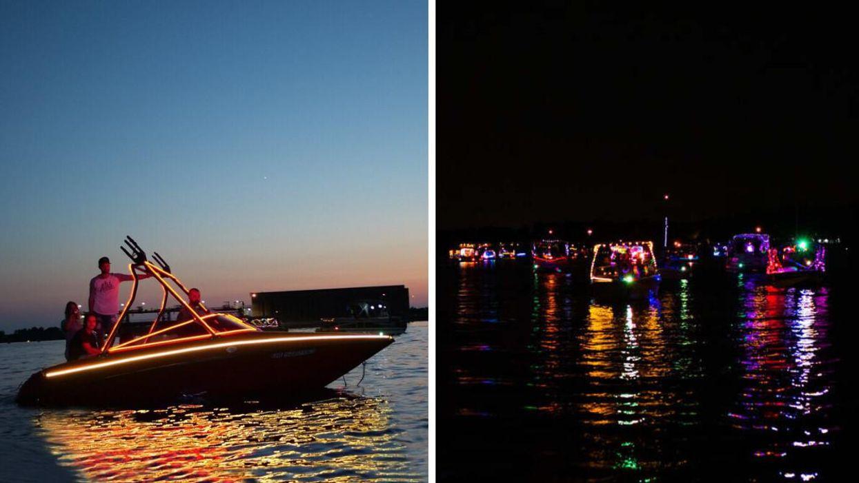 Quoi faire à Drummondville : Il y a une parade de bateaux illuminés le 7 août 2021
