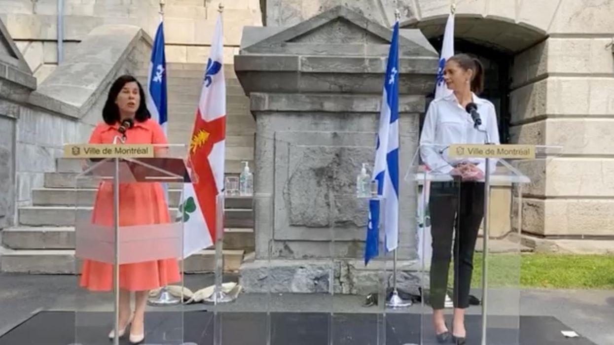 Trafic d'armes à Montréal : Il faut agir selon Valérie Plante