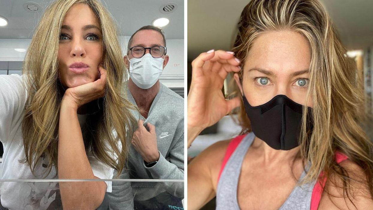 Jennifer Aniston Dumped People For Not Saying Their Vaxx Status