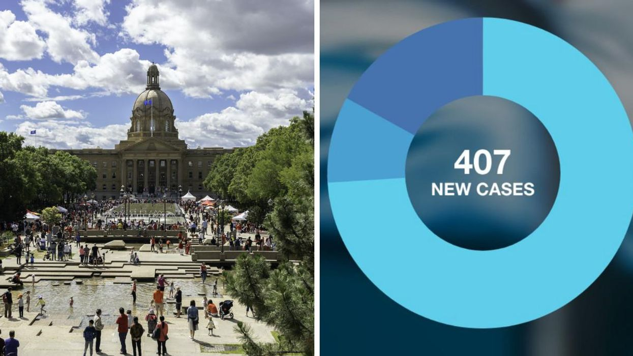 COVID-19 Cases In Alberta Are On The Rise & Here's The Breakdown Based On Vax Status