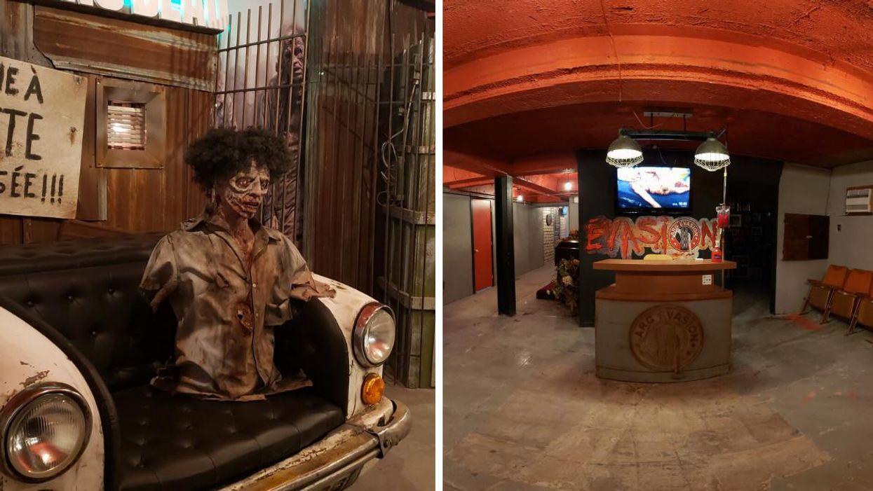 Un jeu d'évasion d'horreur a ouvert à 1h30 de Montréal en août 2021