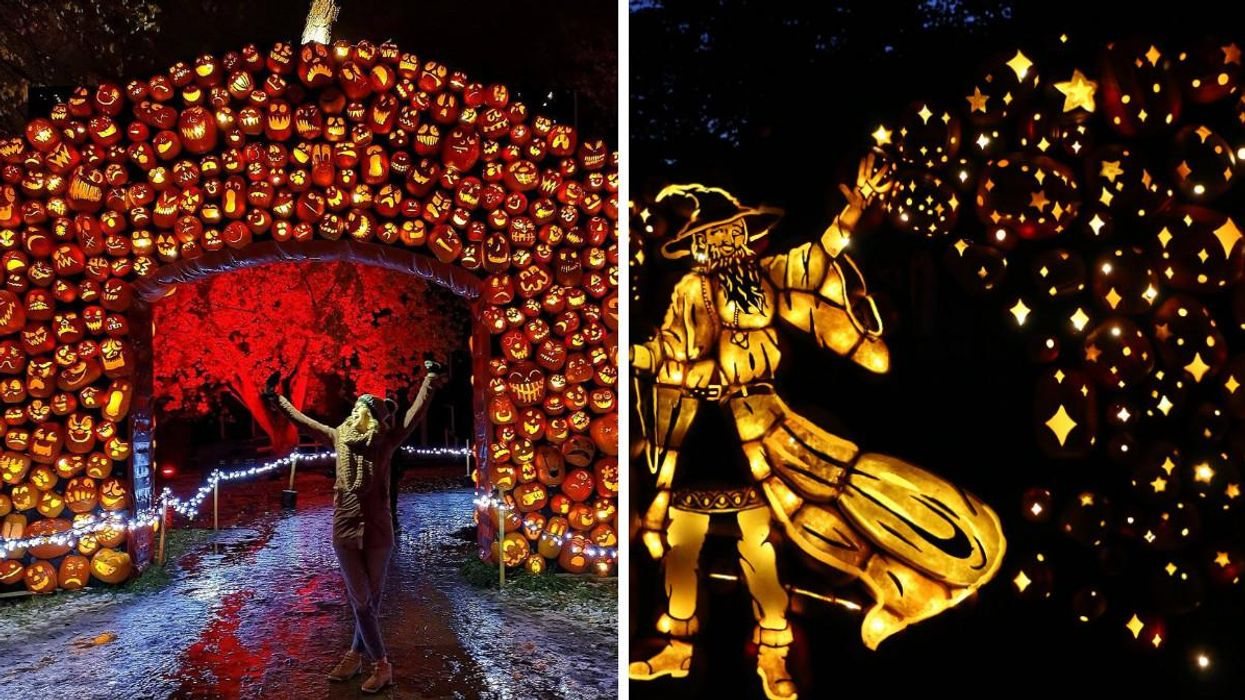 Pumpkinferno Is Coming To 2 Cities In Ontario With Thousands Of Pumpkins