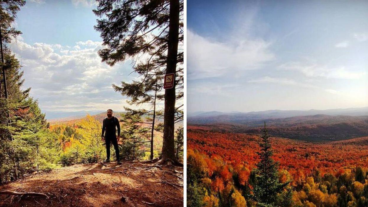 Mont Hereford : Une randonnée pour admirer les couleurs de l'automne au Québec