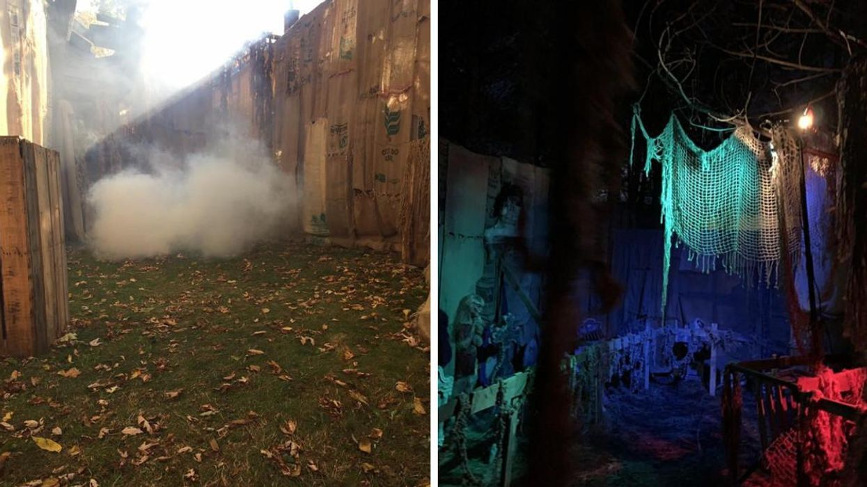 Grimm Grounds Haunted Maze In Ontario Is A Real Life Nightmare