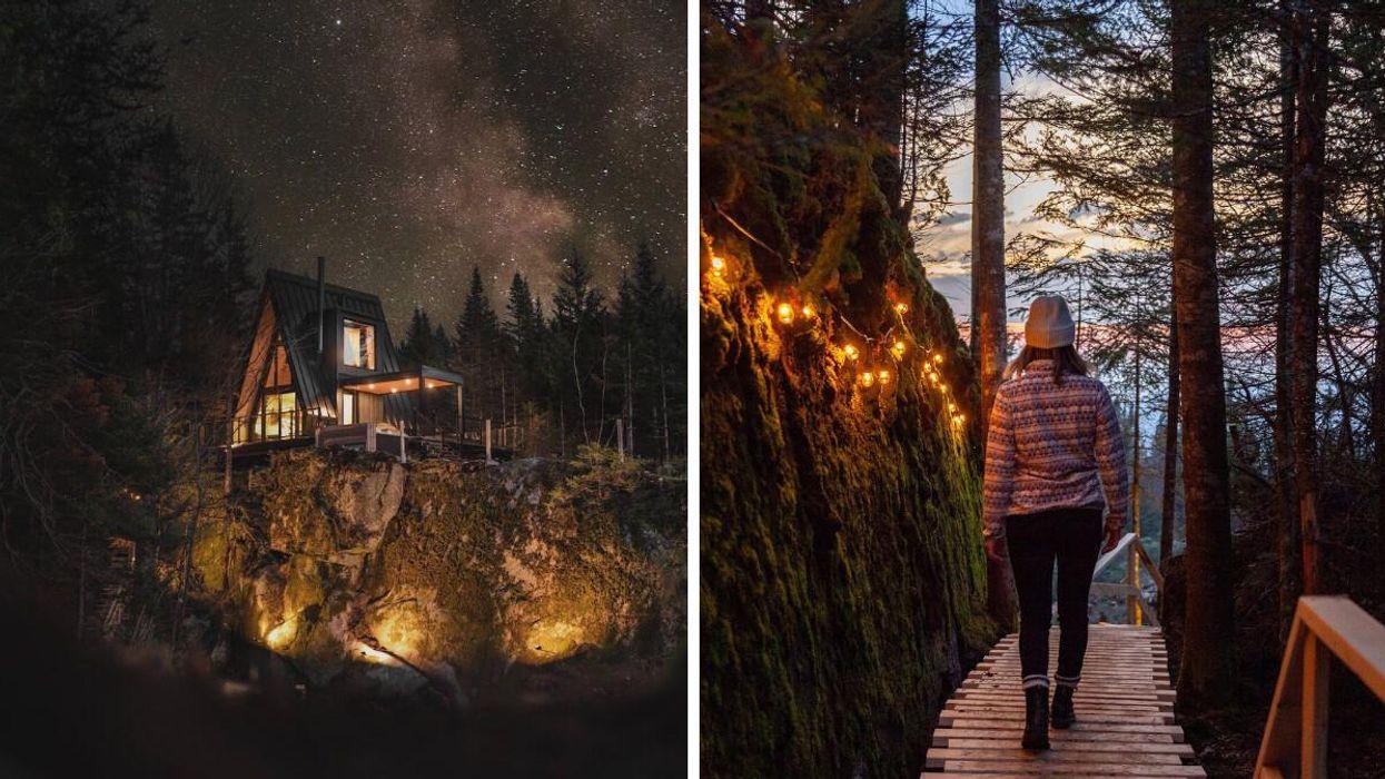 Ce Airbnb près de Québec est parfait pour un séjour romantique en automne