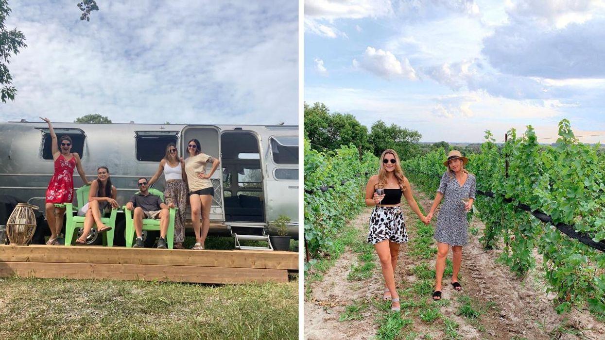 Ottawa Vacation Rental Is Hidden In A Vineyard & Here's A Look Inside