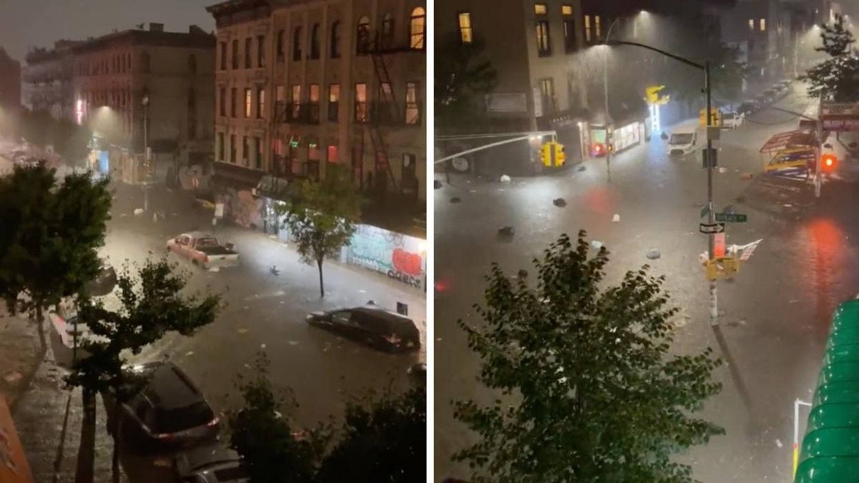 New York City's Cataclysmic Floods Engulfed The Streets & Subway Last Night (VIDEOS)