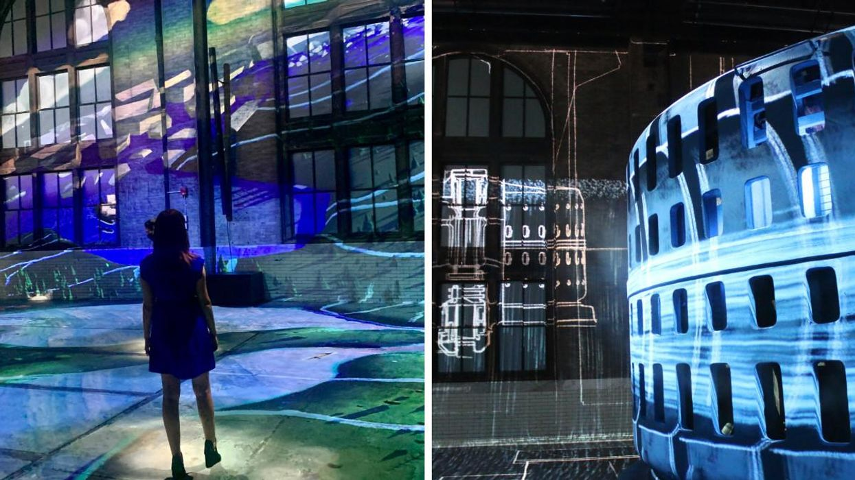 Niagara's Power Station Has Transformed Into A Stunning Light Show & Here's A First Look