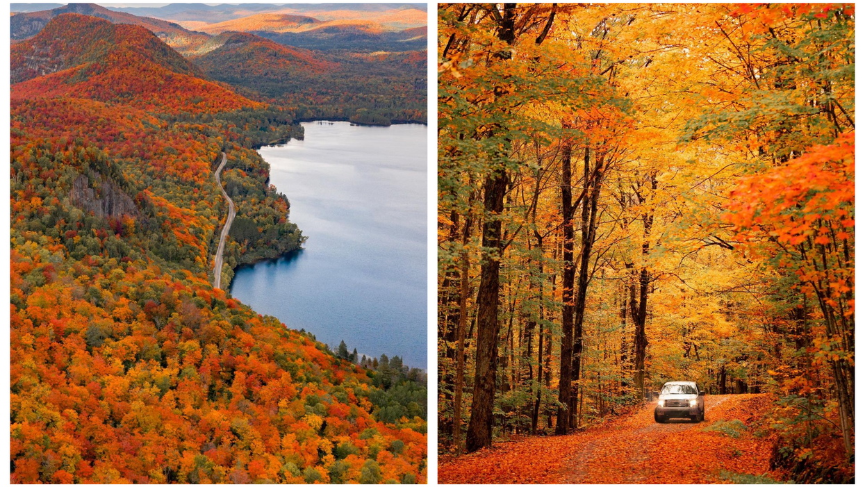 7 Canadian Road-Trip Routes That Give You The Most Spectacular Fall Views From Your Car